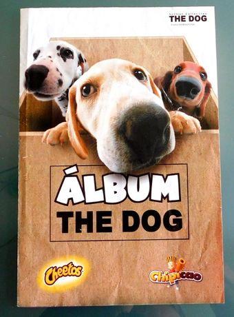 Caderneta cromos the dog álbum cheetos bollycao