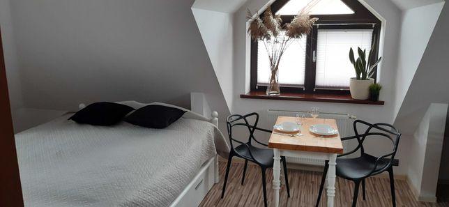 Pokój z aneksem i łazienką - Apartament Studio 2+2, nad jeziorem.