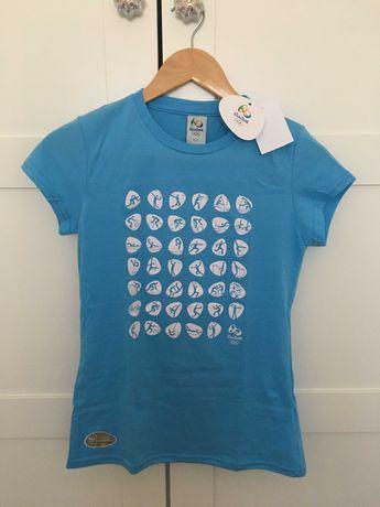 T-Shirt Jogos Olímpicos Rio 2016 (NOVA)