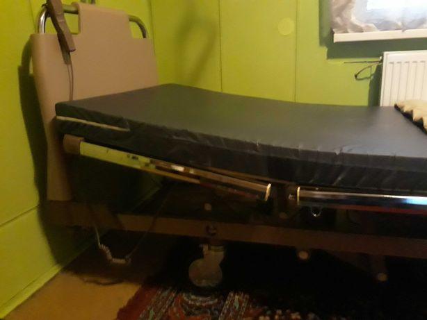 Łóżko Szpitalne Rechabilitacyjne elekt materas plus materas z pompką