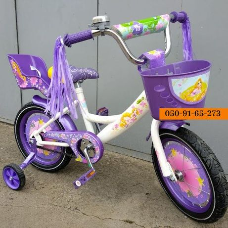 """Детский двухколесный велосипед 14,16,18"""" 20"""" дюймов Azimut Girls Герл"""