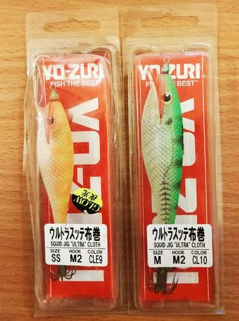 Воблеры YO-ZURI Squid Jig Ultra Cloth