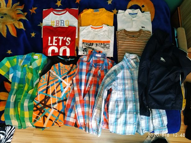 Ubrania na chłopca 13, 14 lat 152 do 164