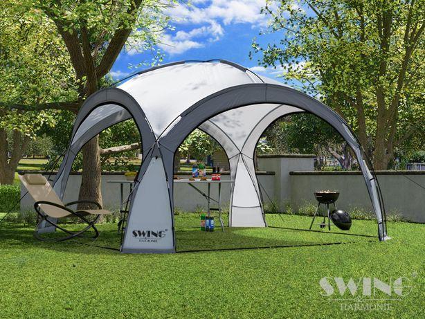 namiot pawilon ogrodowy kopuła imprezowa xxl led