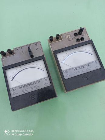 Амперметр, миллиамперметр, измерительные инструменты
