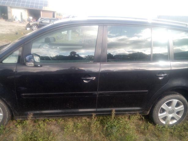 Drzwi lewe Volkswagen Touran kompletne lc9z