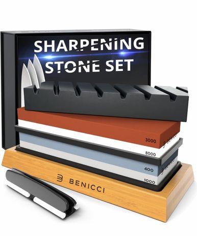 Набор камней для заточки ножей Benicci (точилка для ножей)