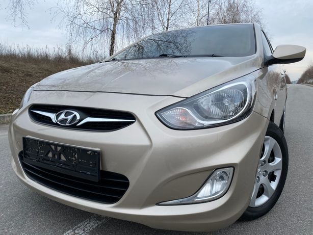 Hyundai Accent Official 2012 Газ/Бензин