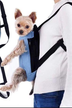 Mochila transporte cão ou gato Nova e Selada ( Stock disponível XL)