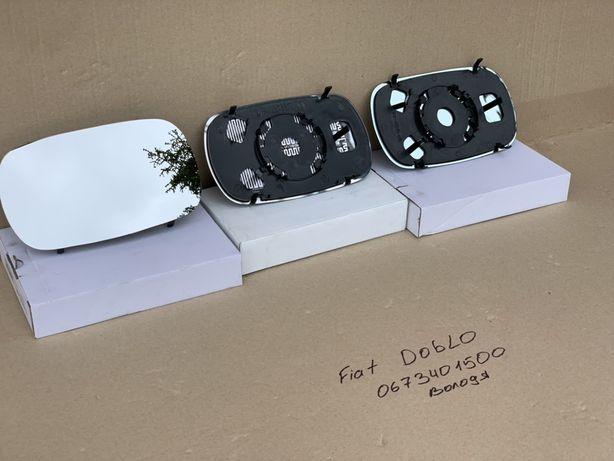 Зеркальный элемент Fiat Doblo 2001-2014 левый правый зеркало стекло
