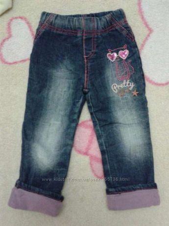 Флисовые джинсы, брюки, джинсы утепленные