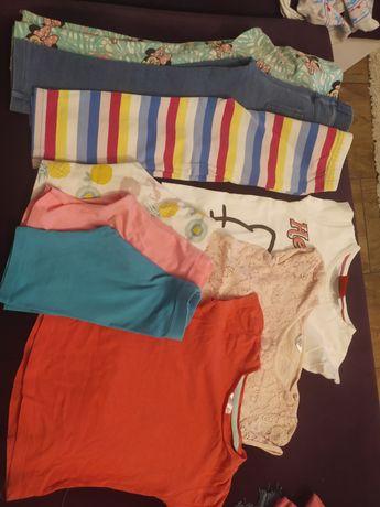 Zestaw ubrań dla dziewczynki 104