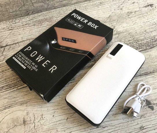 лед экран, фонарик - на 50000 mah павер банк + 3 USB