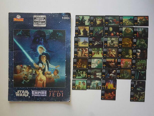 Caderneta Star Wars Mini Filmes + 36 Mini Filmes [Matutano]*P. Grátis*