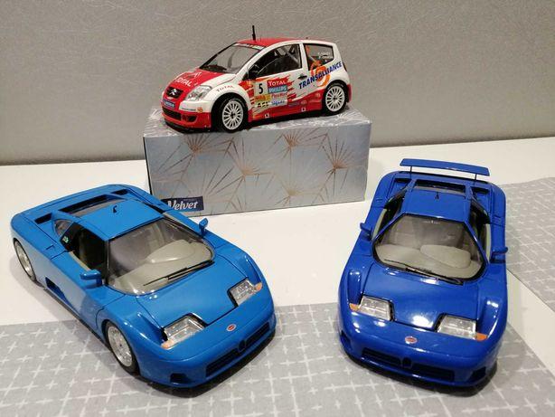 Modele samochodów Marek francuskich w skali 1:18