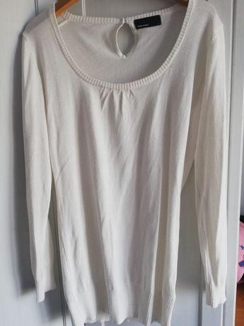 Biały sweter swetr Vero Moda roz L 40