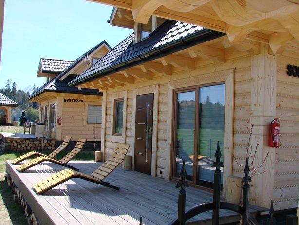 Nocleg Kwatera Domek drewniany wynajme Podhale Góry Velo Dunajec