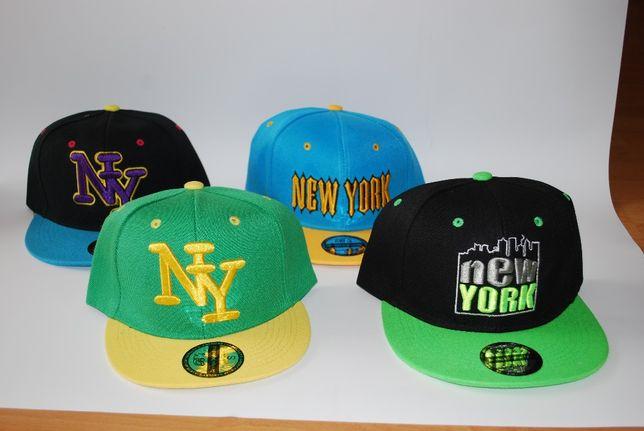 czapka z daszkiem hip hop regulowany rozmiar