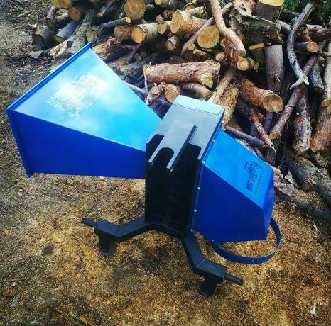OKAZJA Rębak do drewna drzewa gałęzi walcowy 4 lub 6 nożowy Dostawa