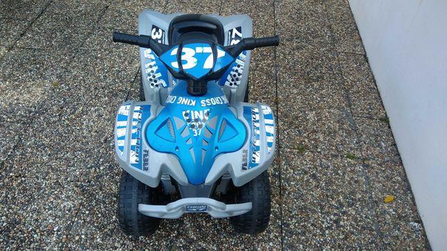 Moto 4 eletrica - azul