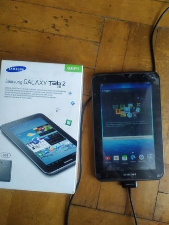Tablet Samsung Galaxy tab2  7.0działa zbity ekran