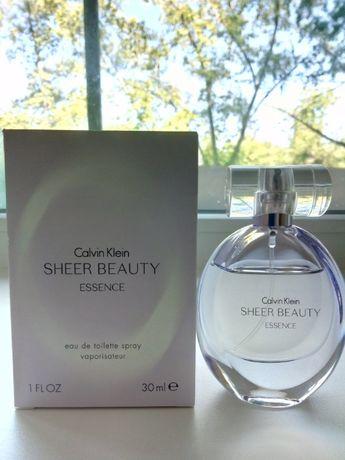 Продам т/в Calvin Klein Sheer Beauty Essence, оригинал!