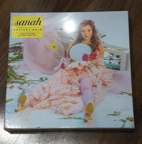 Super Deluxe Box SANAH 2x LP 2x CD Królowa Dram limit autograf Winyl