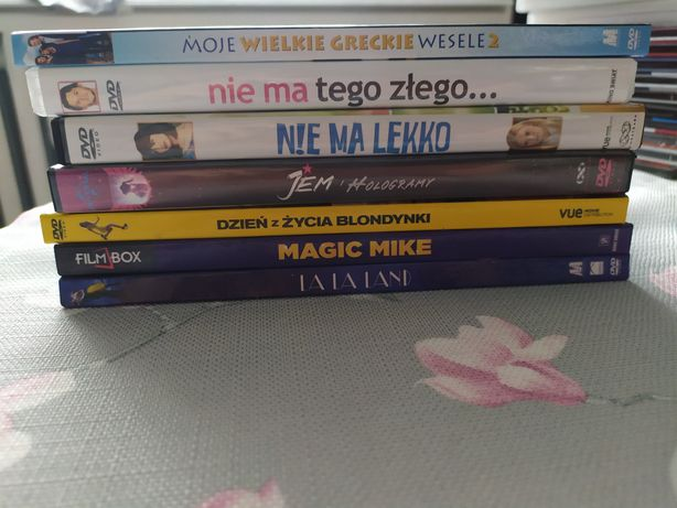 Filmy DVD m.in. Moje wielkie greckie wesele 2