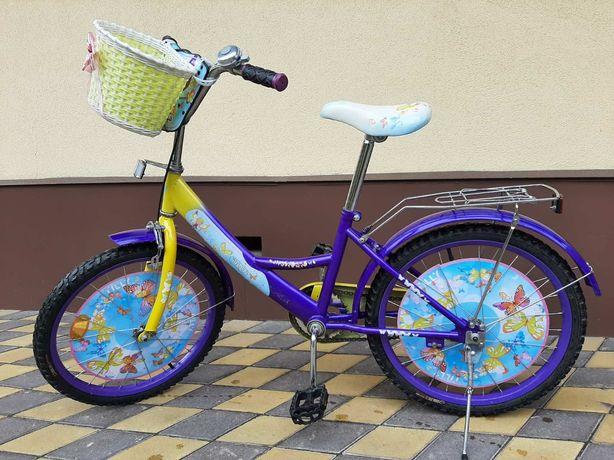 """20""""детский велосипед на 5-9 лет для девочки"""