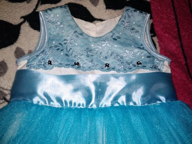 Пышное платье для девочки на годик