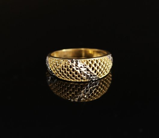 Złoto 585 - Złoty pierścionek damski