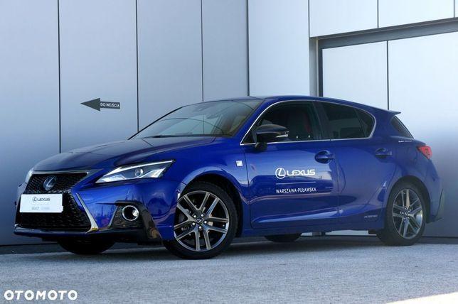 Lexus CT Rezerwacja F Sport Edition Jedyny taki ! SalonPL, FV23%