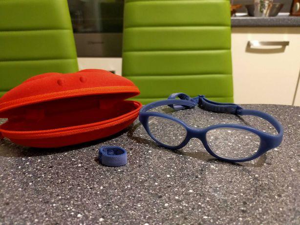 Oprawki okulary dziecko chłopiec około 3-4 lat