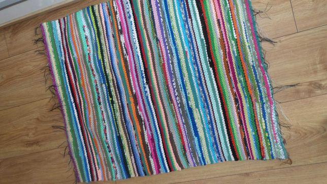 Dywanik szmaciak bawełniany rękodzieło 100x62