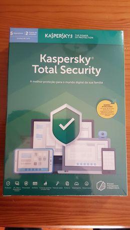 Kaspersky Total Security Multi-Device (5 dispositivos 1 ano)