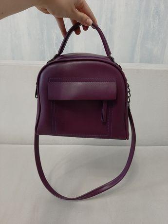 Сумочка женская фиолетовая