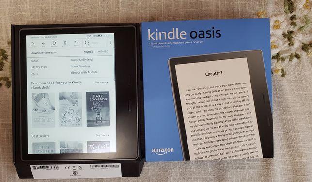 Amazon Kindle Oasis 32gb 9 поколение online без рекламы