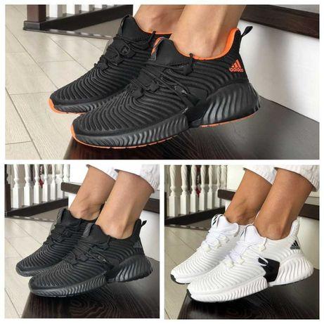 Женские текстильные кроссовки Adidas AlphaBounce Instinct ТОП Качество