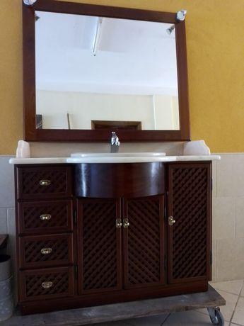 Movel WC + Espelho + torneira