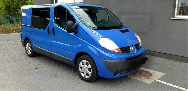 Renault  Trafic =Vivaro,Primastar  2.0/115 km 5cio osobowy, brygadowka