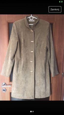 Jesienny kamelowy płaszcz S/M/L