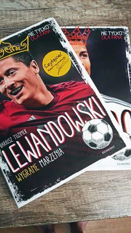 Książki Lewandowski i Ronaldo