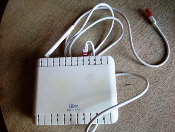 Ruter ZTE ZVX10 W300 + zestaw instalacyjny modem ADSL ST 330 USB