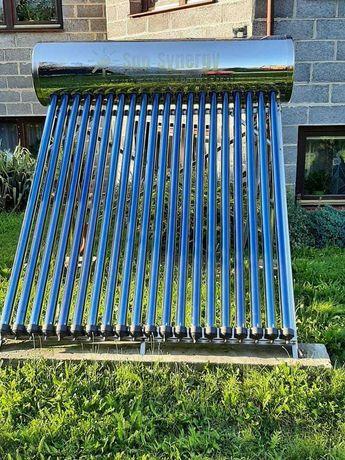 Kolektor słoneczny ciśnieniowy ze zbiornikiem 200L Nierdzewny