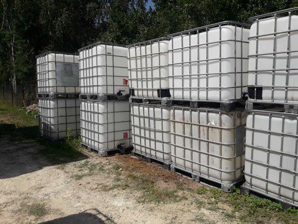 Zbiorniki 1000 l na wodę, paliwo ,szambo .