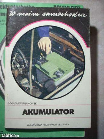 Elektrotechnika samochodowa książki