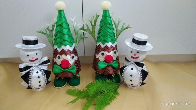 Bałwanki, ozdoby świąteczne