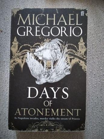 """Days of atonement"" Michael Gregorio"