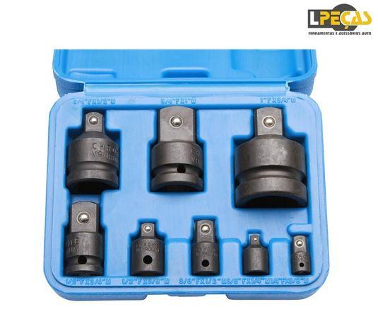 Kit Adaptador/Conversor Chaves de Caixa Impacto 8 PCS