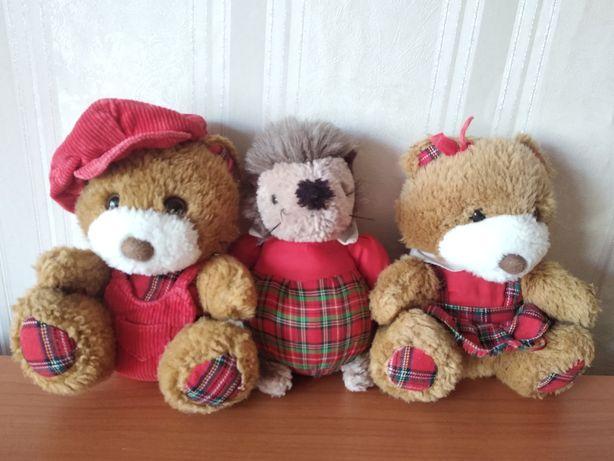 Медведь мишка медвежонок ёжик ёж игрушки